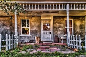 Baled Hay House